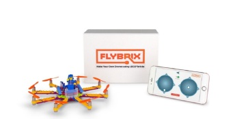 Flybrix lets you create toy drones with Lego bricks