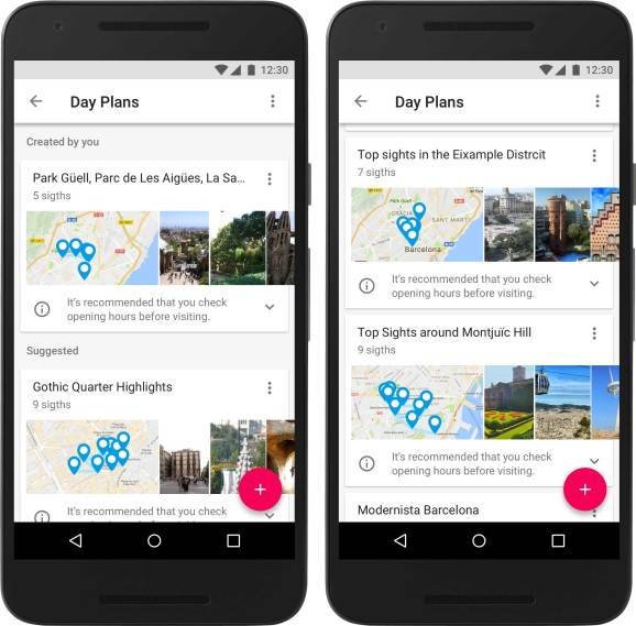How Google Trips Automatically Builds Itineraries