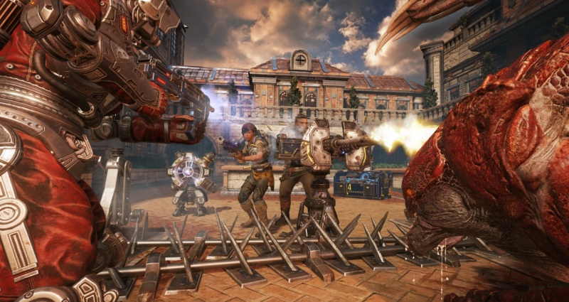 It's inevitable you'll be surrounded in Horde 3.0 in Gears of War 4.