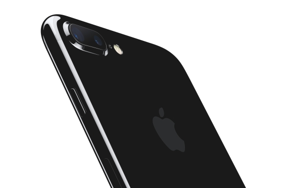 The iPhone 7 Plus with dual cameras.