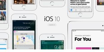iOS 10 passes 50% adoption in under 1 month