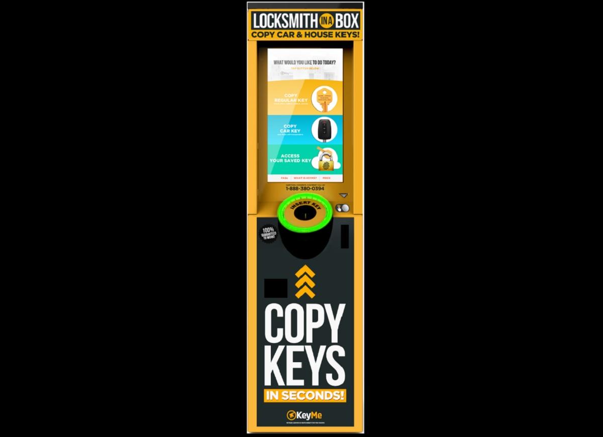 KeyMe raises $50 million for AI powered kiosks that duplicate keys in seconds