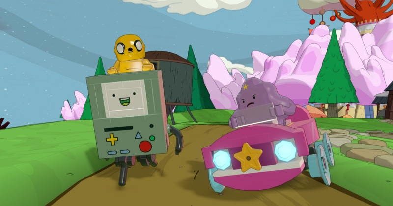 Lego Dimensions Adventure Time characters.