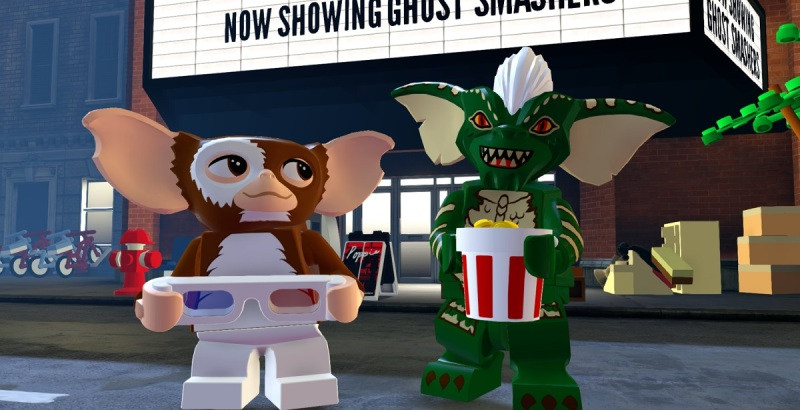 The Gremlins characters are new this season for Lego Dimensiosn.