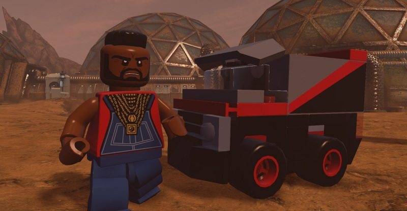 Mr. T has arrived with the A-Team for Lego Dimensions.