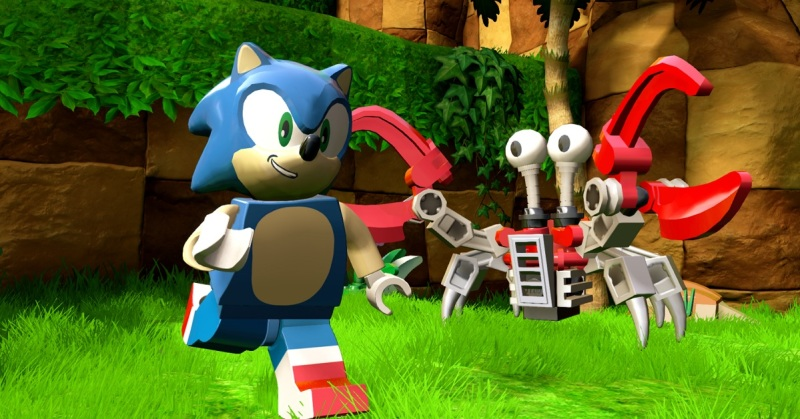 TT Games once made Sonic games, and they're doing it again with the new addition to Lego Dimensions.