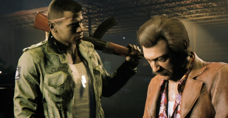 Lincoln Clay and Thomas Burke of Mafia III.