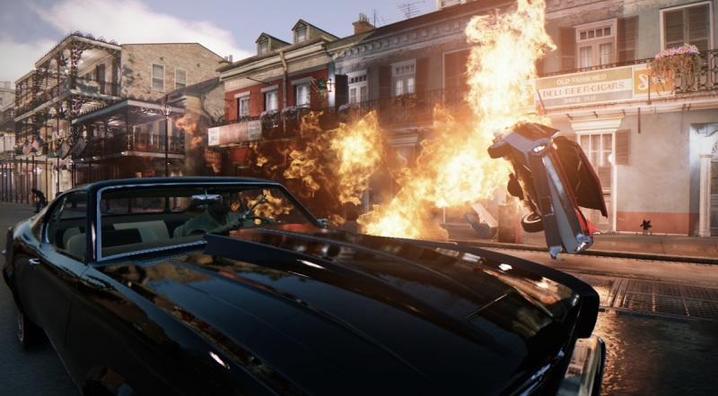 Car chases are a big part of Mafia III.