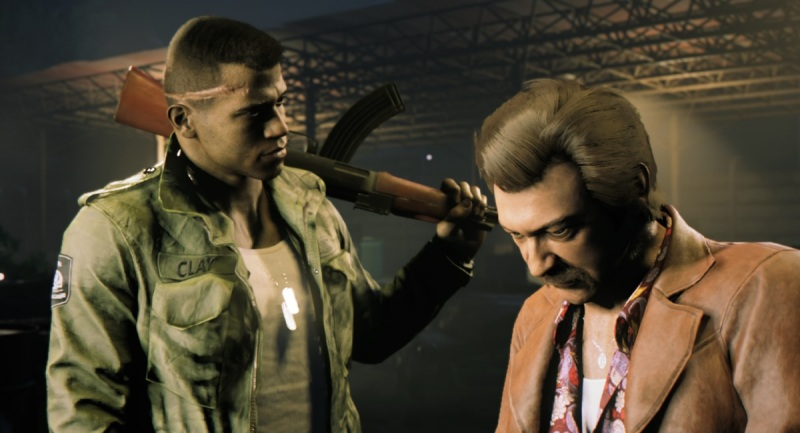 Lincoln Clay and Thomas Burke in Mafia III