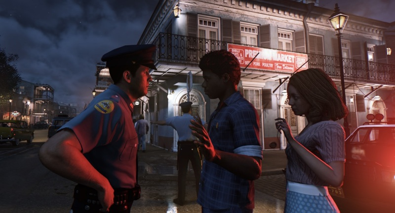 The world of Mafia III, set in New Orleans in 1968.