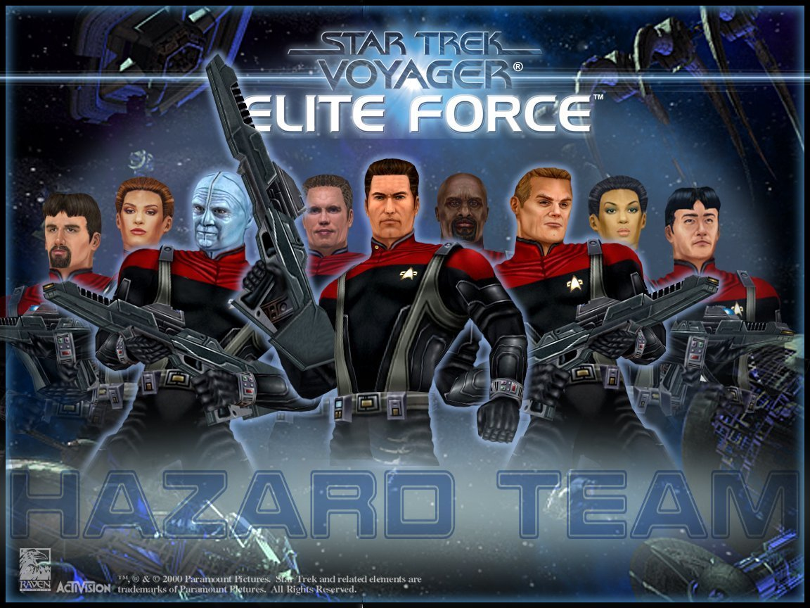 The actual Elite Force.