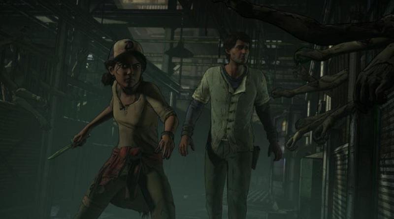 A scene from Telltale's The Walking Dead: A Telltale Series -- A New Frontier.