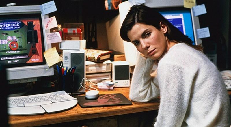 Sandra Bullock in The Net.