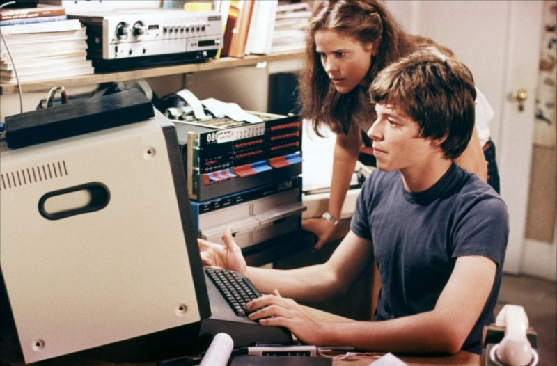 Ally Sheedy and Matthew Broderick are the stars of WarGames.