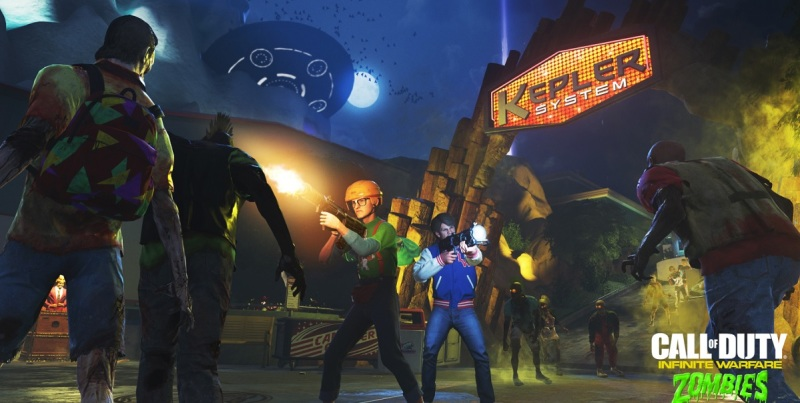 You have to go for the head shots in Zombies in Spaceland.