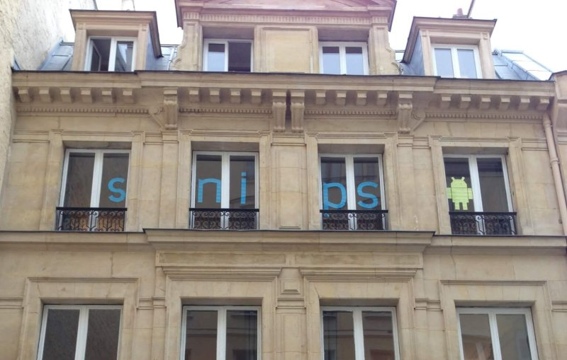 Snips' headquarters in Paris.