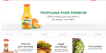 Amazon expands its AmazonFresh grocery delivery service to Chicago and Dallas