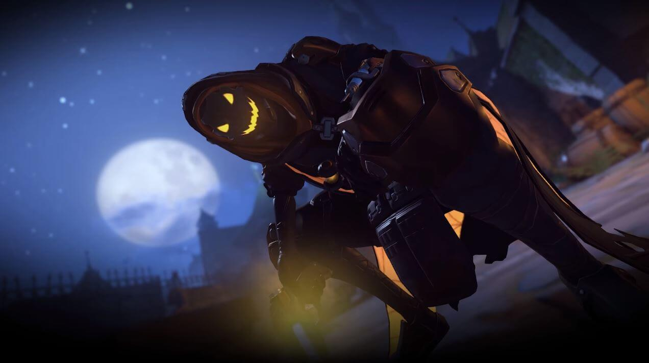 Overwatch is getting some Halloween skins and themes.
