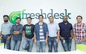 Chatimity team at Freshdesk headquarters in San Francisco.