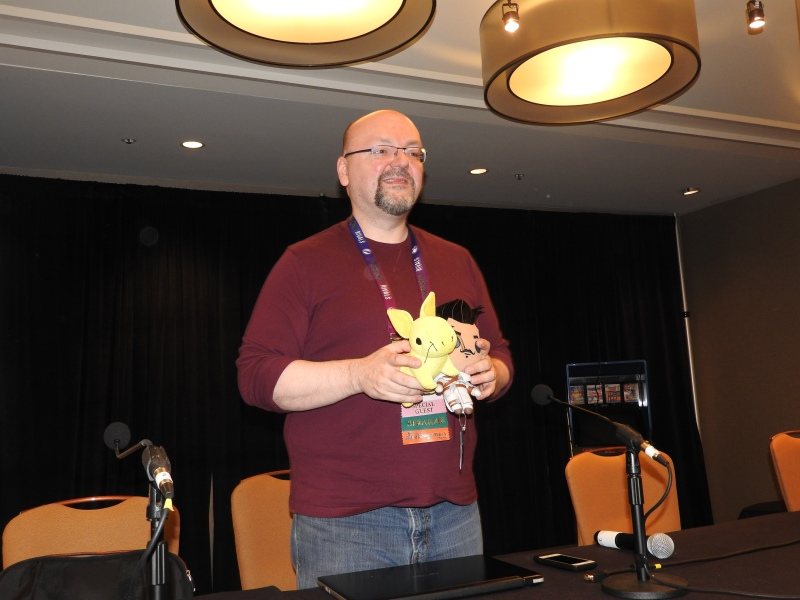 David Gaider, an openly gay game developer at Beamdog. He formerly worked at BioWare.