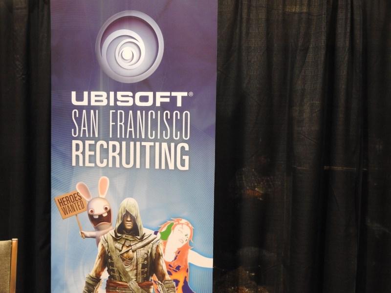 Ubisoft recruited at GaymerX.