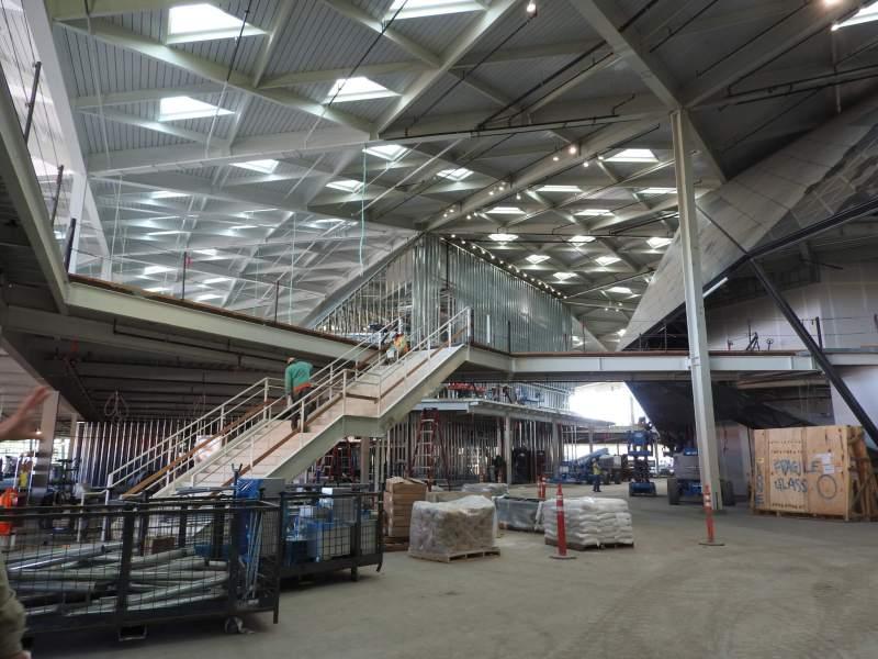 Nvidia headquarters under construction.
