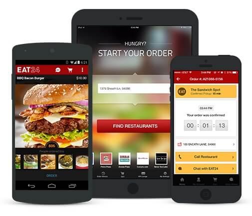 Eat24's apps
