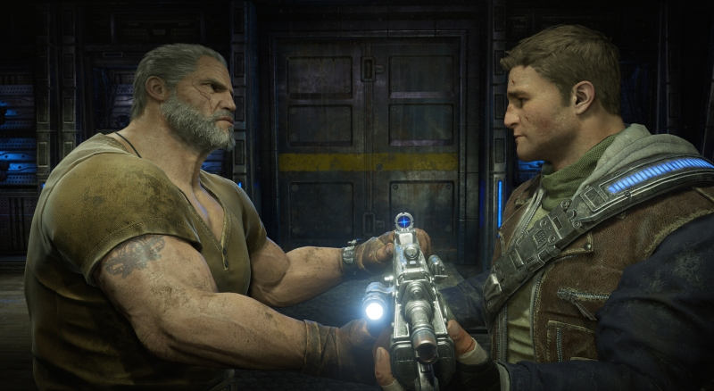 Father and son. The Fenix legacy in Gears of War 4.