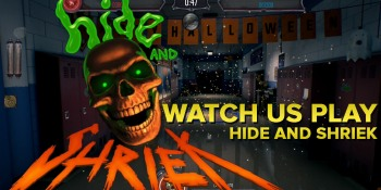 Watch us play Hide and Shriek, the head-to-head ghost simulator