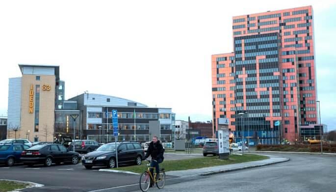 Gateway to the Ideon Science Park in Lund, Sweden