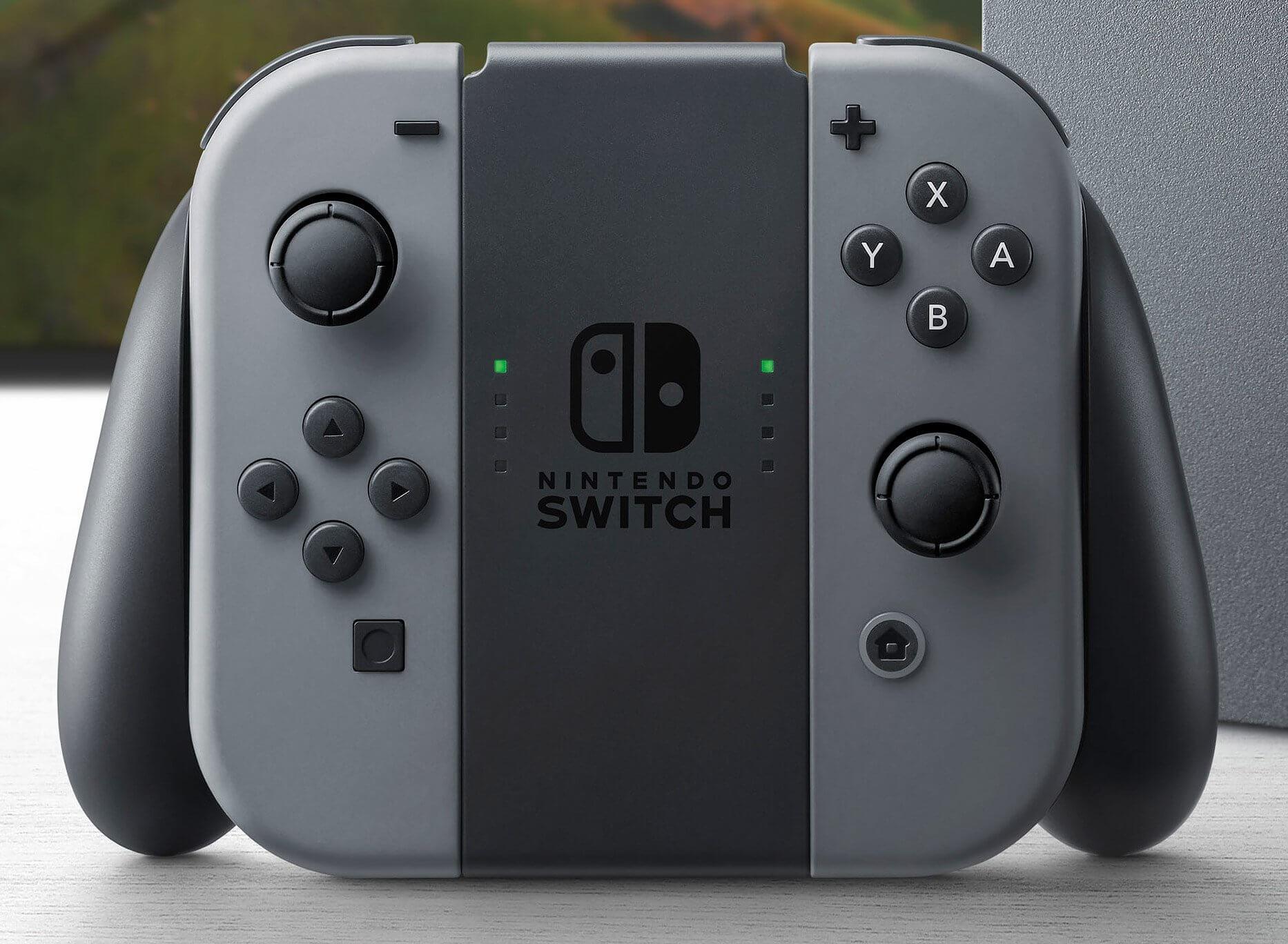 The Joy-Con controller for the Nintendo Switch.
