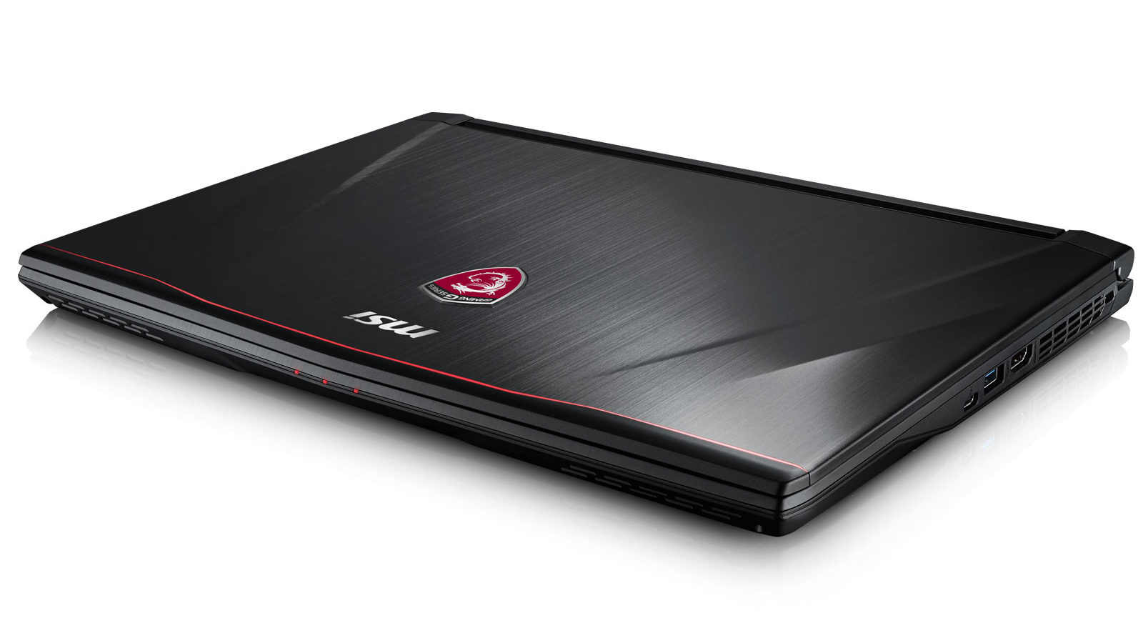 The sharp-looking MSI GS43VR gaming notebook.