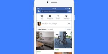 Facebook expands its Craigslist-like Marketplace into 17 European markets