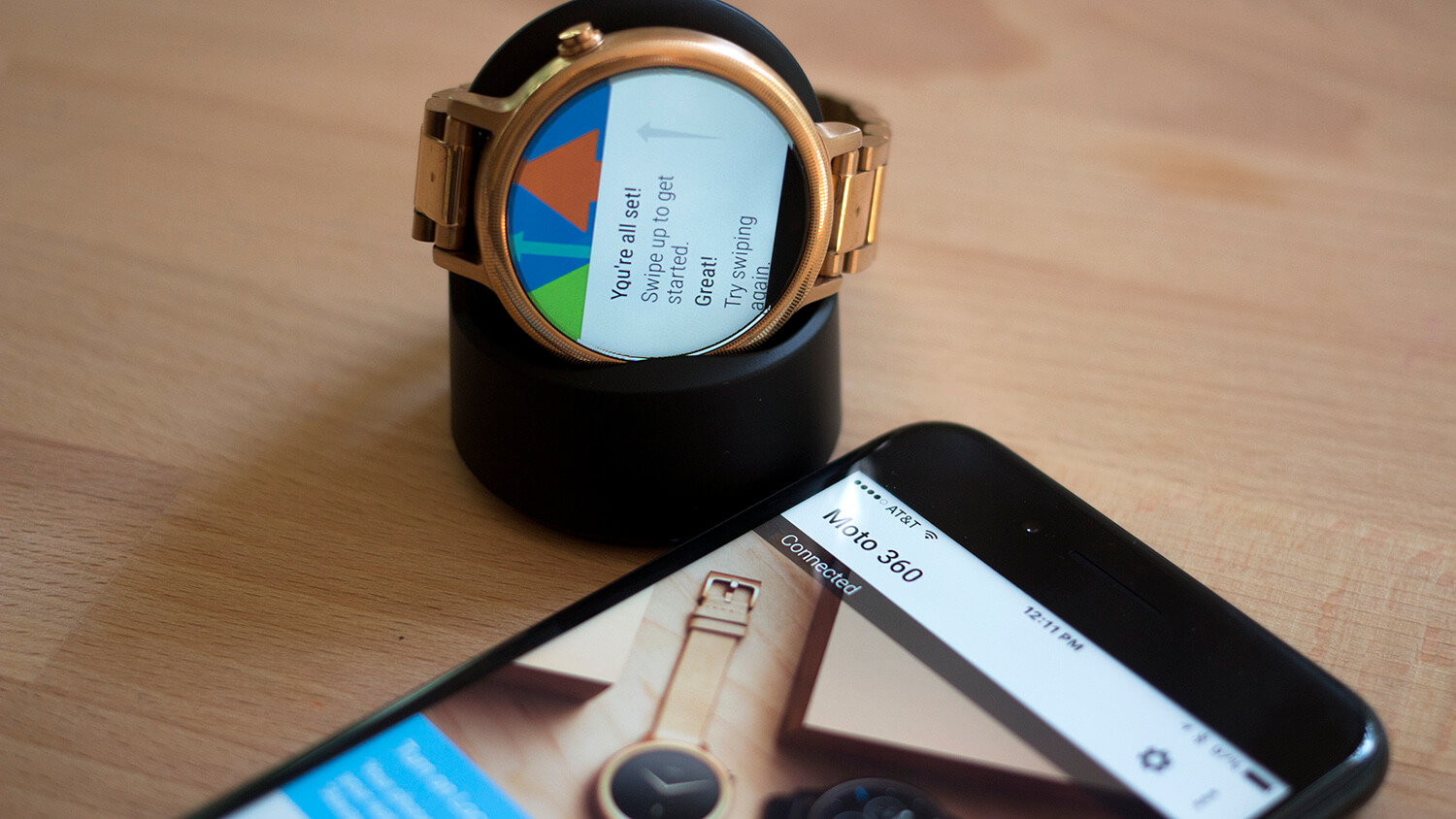 Moto 360 Android Wear iPhone 7 bluetooth connectivity issues