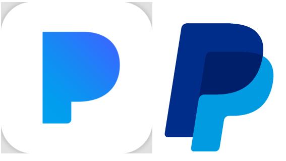 Pandora (L) vs. PayPal (R).