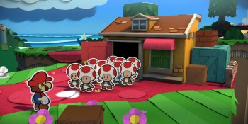 Paper Mario: Color Splash is another delightful trip into a bizarre crafty world