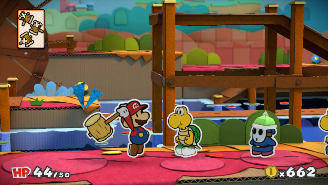 Mario has three hammers with this Koopa Troopa's name on them.