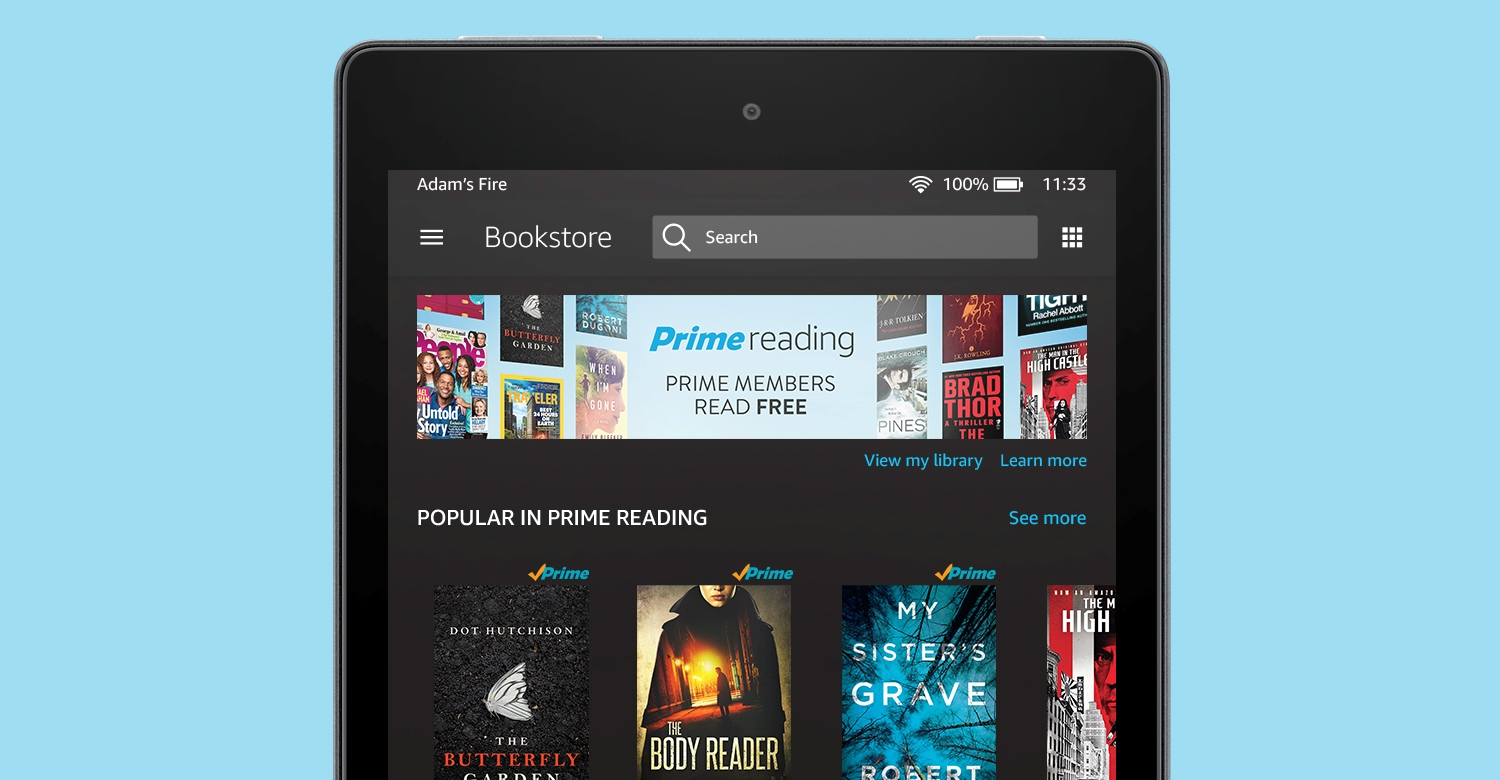 Amazon Prime Reading Launches In The UK