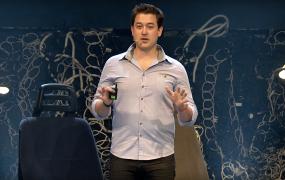 VC Mike Rothenberg speaks at Slush 2015.