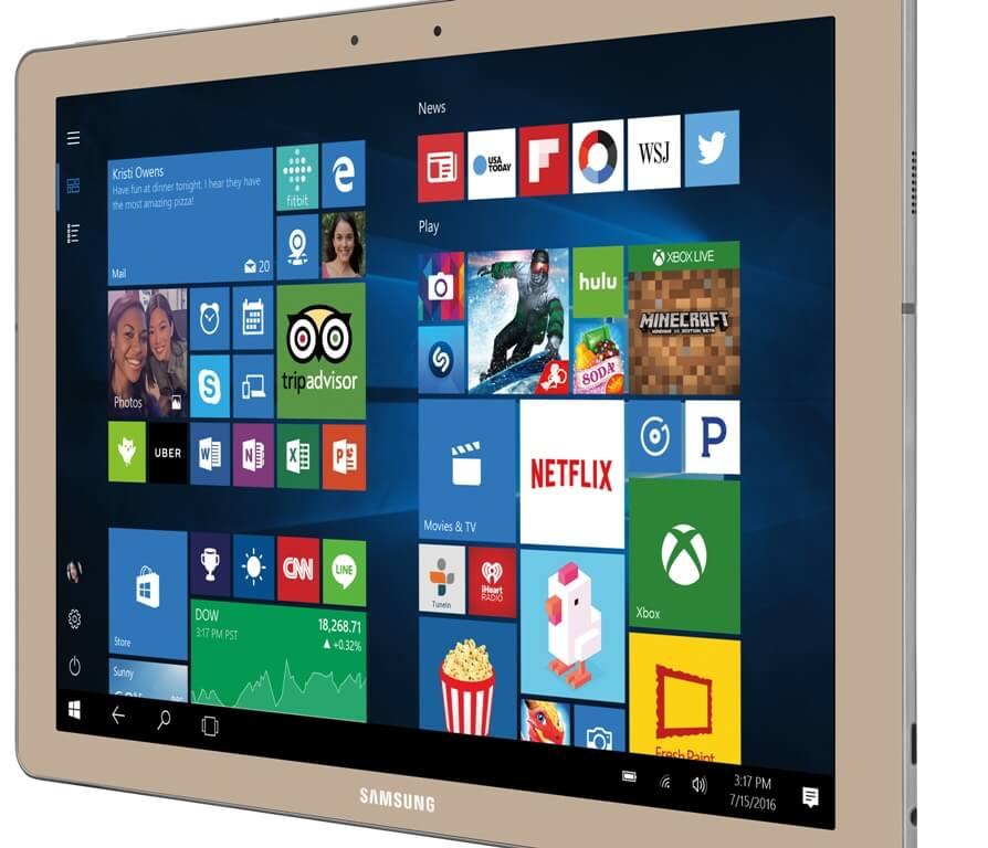 Galaxy TabPro S – Gold
