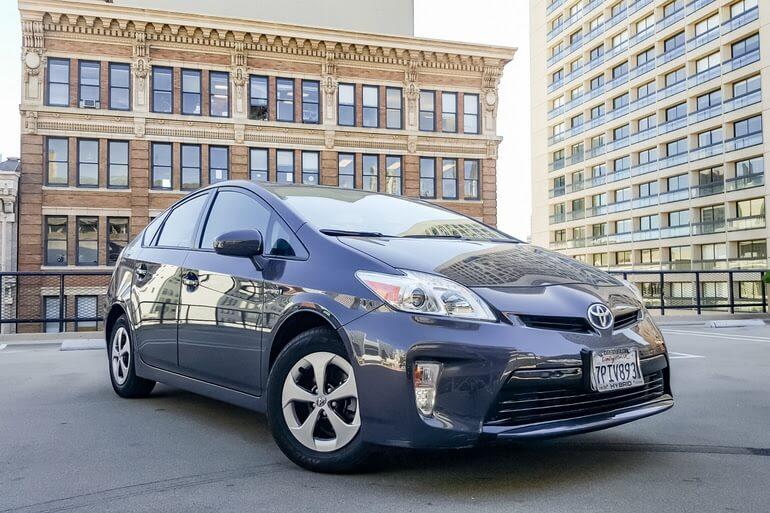 Getaround Toyota vehicle