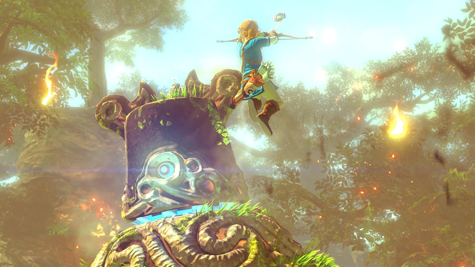 The Legend Of Zelda Breath Of The Wild Looks Like Wind Waker For