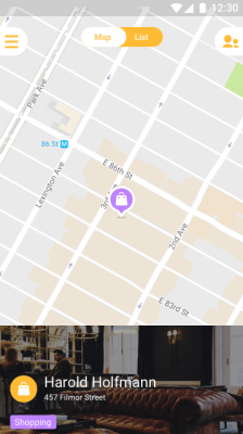 Mapstr Android