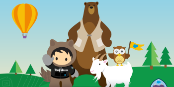 Salesforce's platform training program is now used by 200,000 people