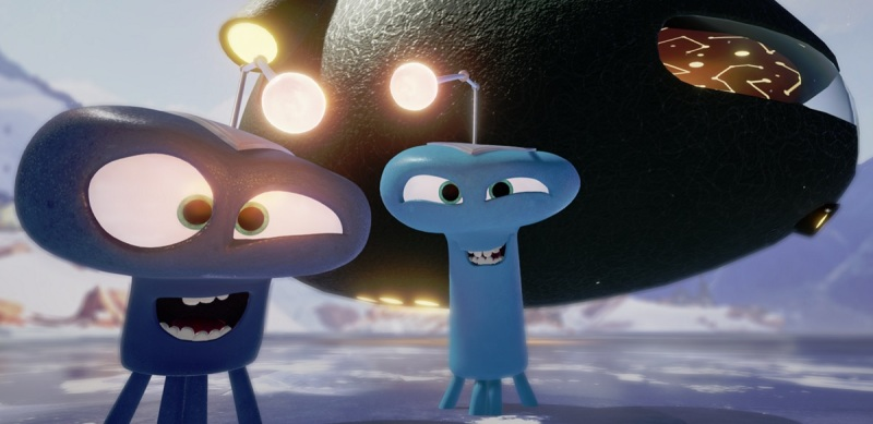 The aliens in Invasion! by Baobab Studios.