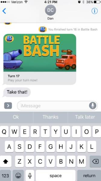 Battle Bash generates revenue from ads.