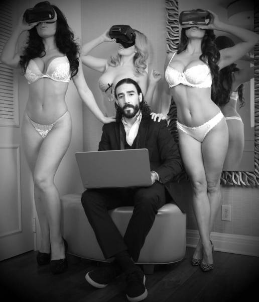 Daniel Dilallo has shifted from video games to VR porn.