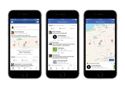 Facebook rolls out recommendation feature that lets your