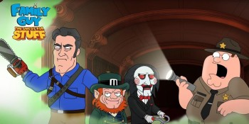 Hollywood studios team up with Jam City's TinyCo on Family Guy game Halloween event