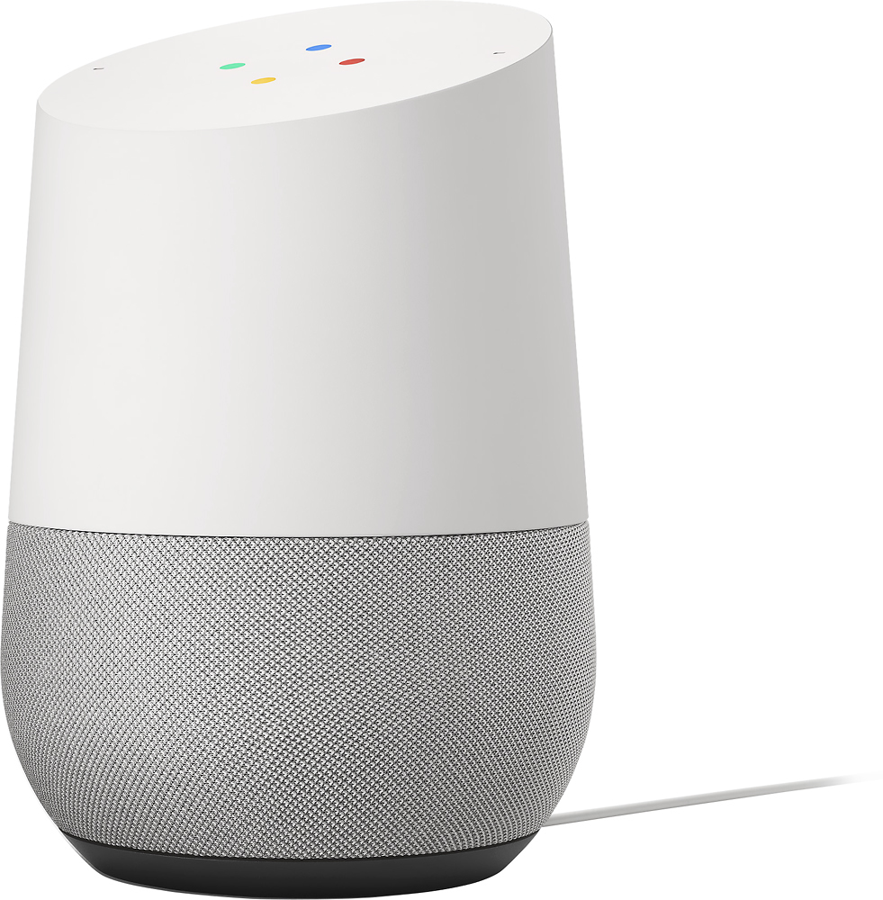 A retail image of Google Home, courtesy of Evan Blass.